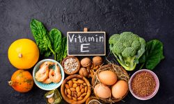 Assortment food sources of vitamin E. Healthy products